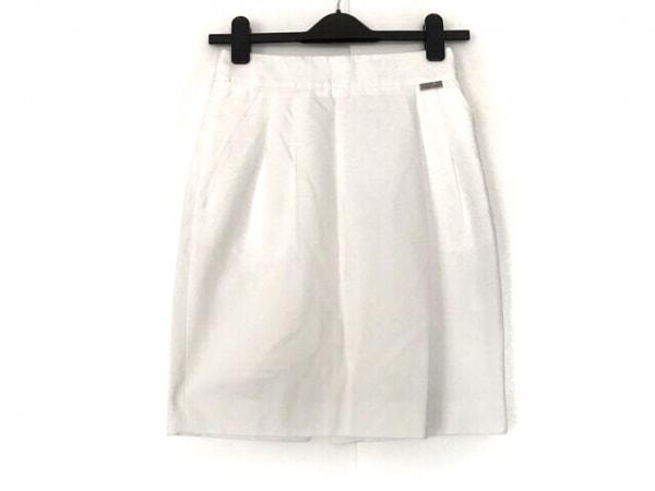 BLUGiRL BLUMARINE(ブルーガールブルマリン) スカート サイズ40 ( I ) レディース 白