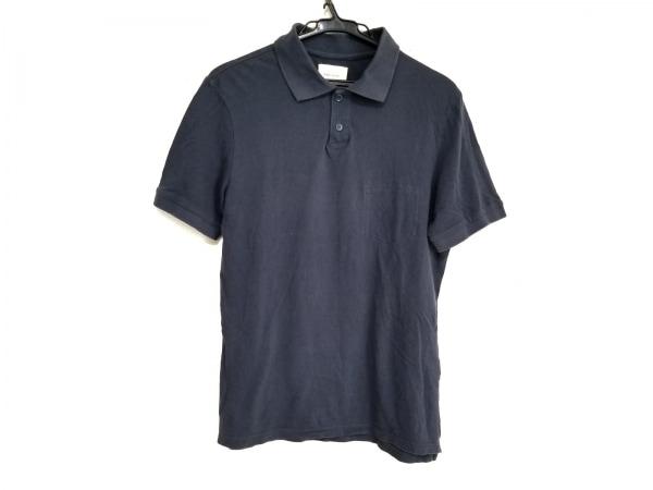 バンドオブアウトサイダーズ 半袖ポロシャツ サイズXS メンズ ネイビー
