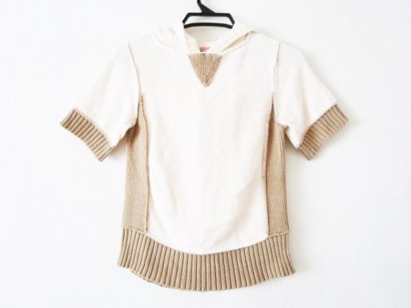 ナショナルスタンダード 半袖セーター