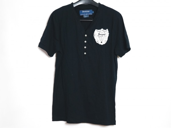 ブロンザージ 半袖カットソー サイズM 黒
