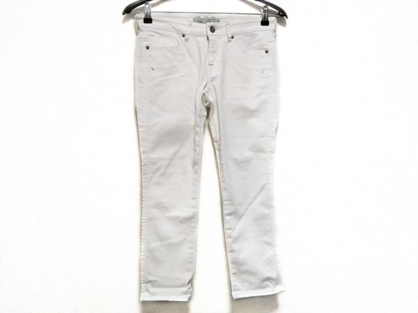 J&company(ジェイアンドカンパニー) パンツ サイズ25 XS レディース アイボリー
