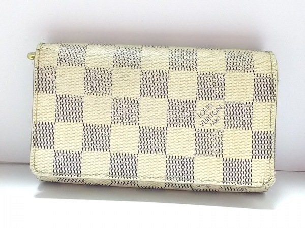ルイヴィトン 2つ折り財布 ダミエ N61744