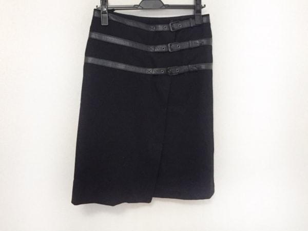 KORS(コース) 巻きスカート サイズ4 XL 黒