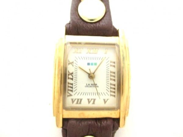 ラメール 腕時計美品  - レディース 白