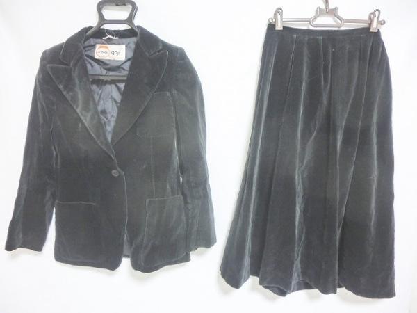 ラモーダゴジ スカートスーツ サイズ9 M 黒
