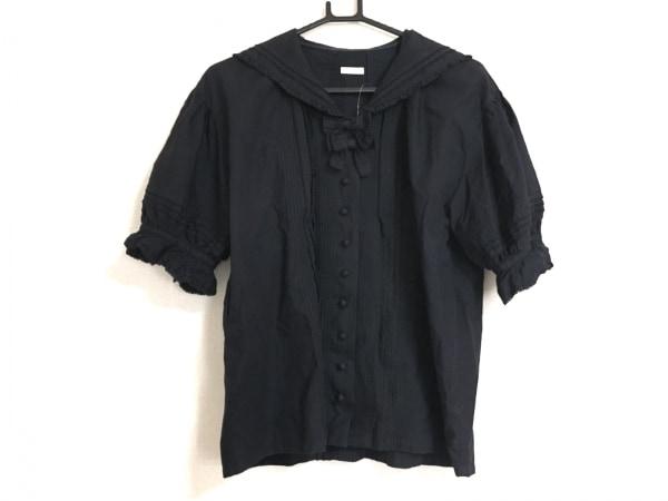 ケティ 半袖シャツ レディース美品  黒 綿