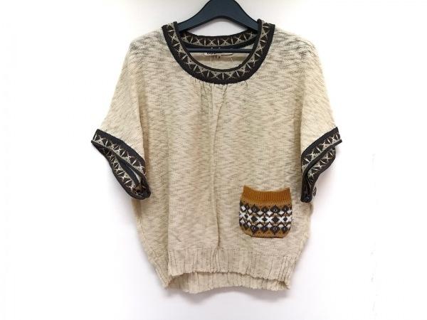 Cutie Blonde(キューティーブロンド) 半袖セーター サイズM レディース
