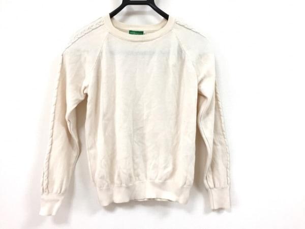 アースミュージック&エコロジー 長袖セーター サイズS レディース美品  ベージュ