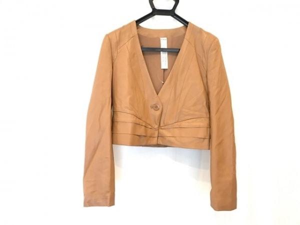 ムルーア ジャケット サイズ04 XL ブラウン