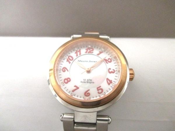 マウロジェラルディ 腕時計 MJ029 ベージュ