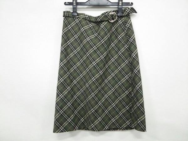 バーバリーブルーレーベル ミニスカート サイズ36 S レディース美品  チェック柄
