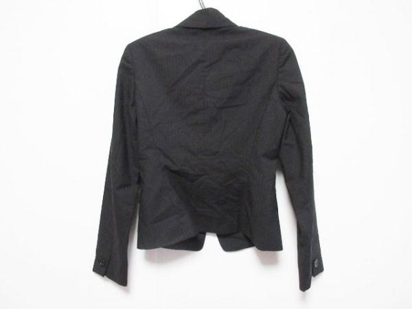ANAYI(アナイ) ジャケット レディース 黒 ストライプ 2