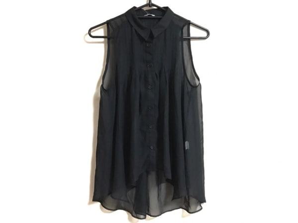 GRL(グレイル) ノースリーブシャツブラウス サイズM レディース 黒