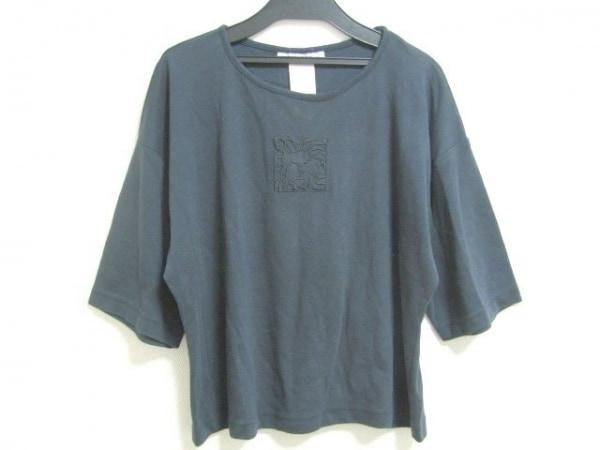 アンクライン 七分袖Tシャツ サイズPETITE