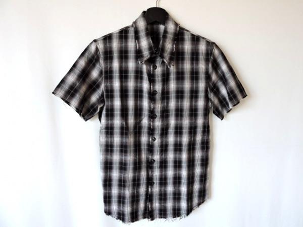 シェラック 半袖シャツ サイズ46 XL メンズ
