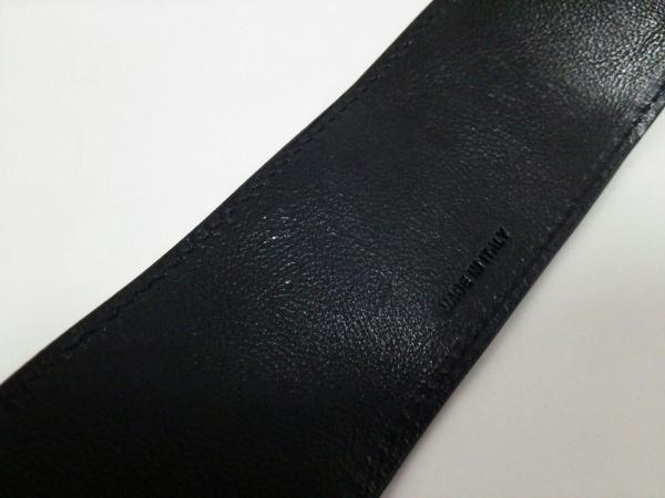 クロエ ブレスレット美品  レザー 黒