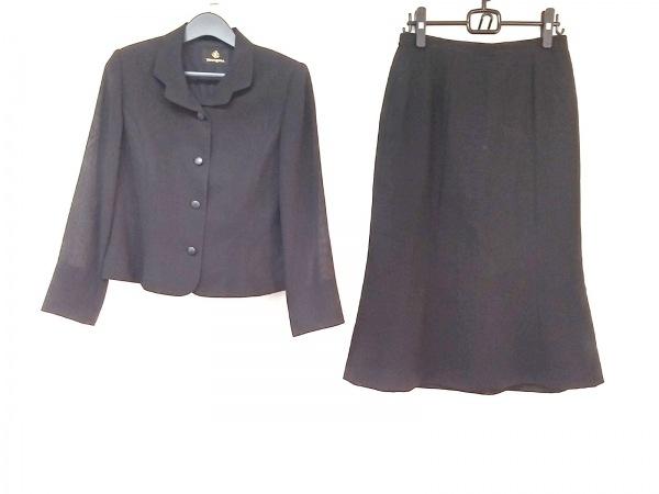 ユミカツラ スカートスーツ サイズ13 L 黒
