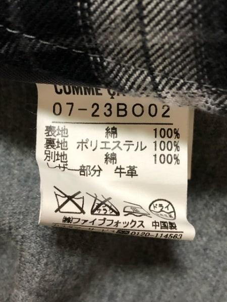 COMME CA MEN(コムサメン) コート サイズM メンズ ライトグレー ショート丈/春・秋物