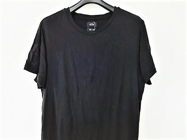 スタンプド 半袖カットソー サイズL メンズ