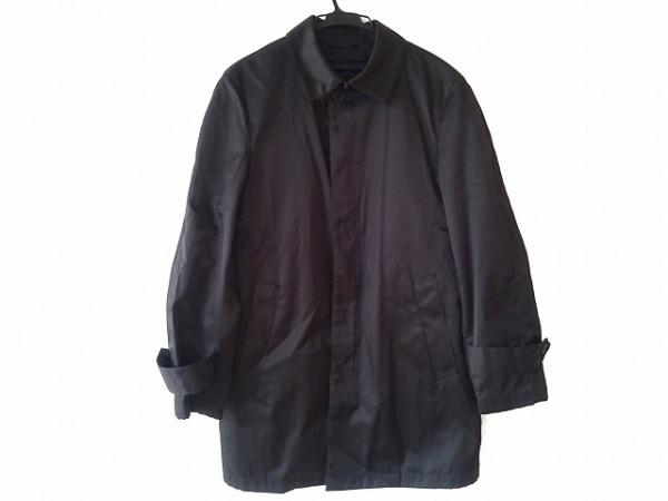 ザダファーオブセントジョージ コート サイズL メンズ 黒 冬物/ライナー付き