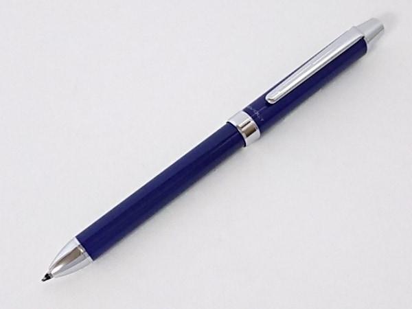 パイロット ペン美品  ブルー×シルバー