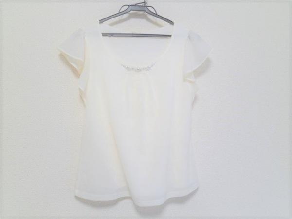 プロポーションボディドレッシング 半袖カットソー サイズ2 M レディース美品  白