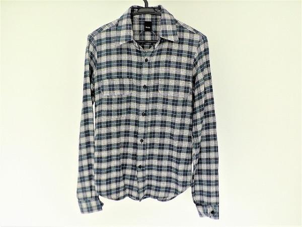 プレッジ 長袖シャツ サイズ48 XL メンズ