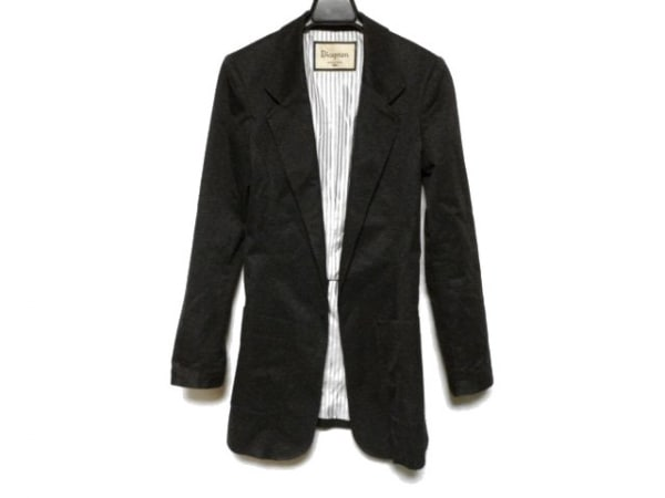 ダイアグラム ジャケット サイズ36 S 黒