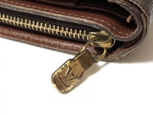 ルイヴィトン 2つ折り財布 モノグラム