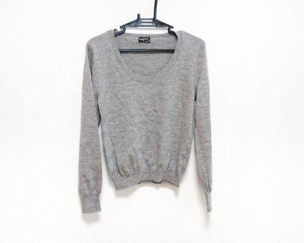 MargaretHowell(マーガレットハウエル) 長袖セーター サイズ2 M レディース グレー