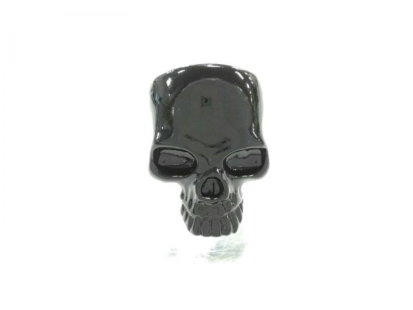 ランダム リング新品同様  金属素材 黒