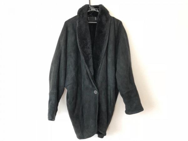 shearling(シャーリング) コート メンズ 黒