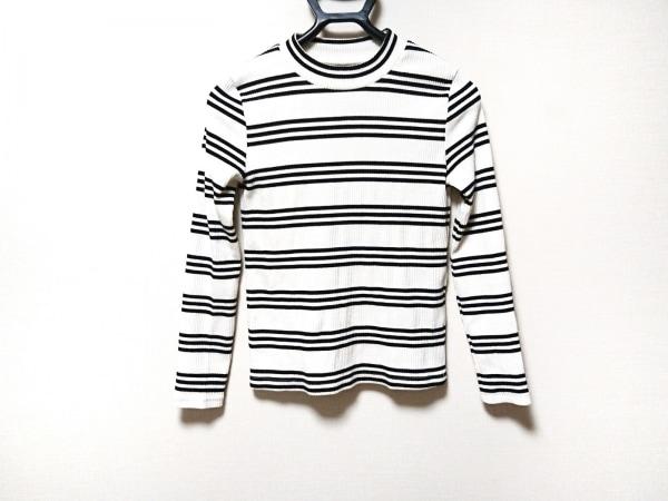 アンリッシュ 長袖セーター サイズM 白×黒