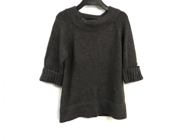 オータムカシミヤ 七分袖セーター サイズS