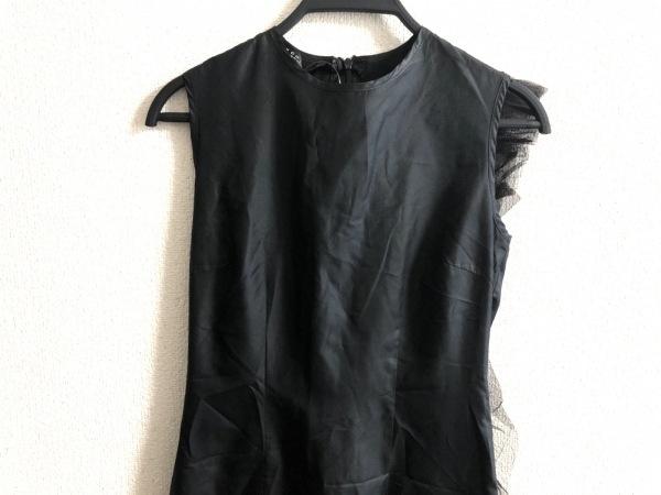 ジャンコロナ ワンピース サイズ38 M 黒