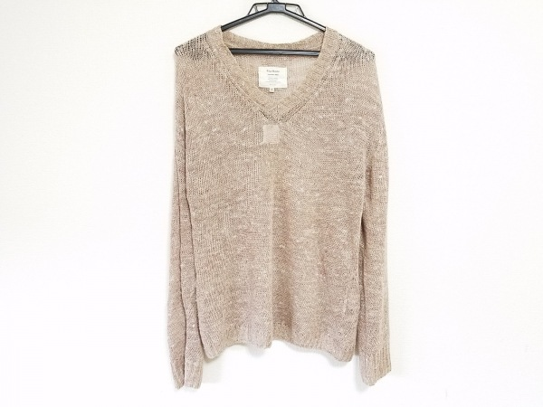 ブラスブラム 長袖セーター サイズ2 M 麻