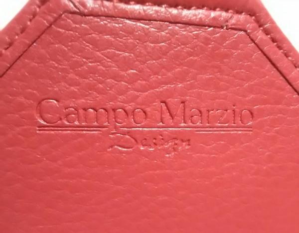 カンポマルツィオ クラッチバッグ レッド