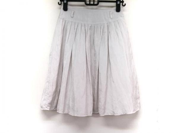 axc(アックス(ロートレアモン)) スカート サイズ36 S レディース ライトグレー
