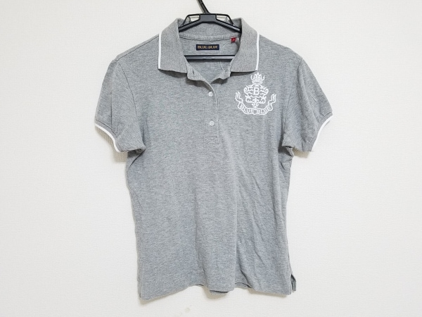 ブルーブルー 半袖ポロシャツ サイズ2 M