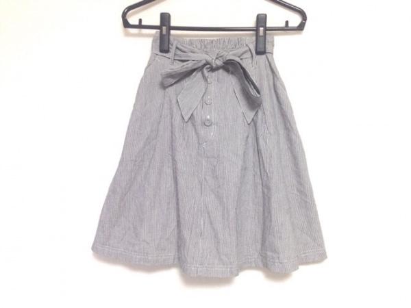 【中古】 ミスティウーマン mysty woman スカート サイズM レディース 美品 グレー