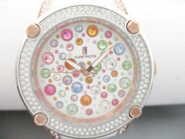 カプリウォッチ 腕時計美品  316L