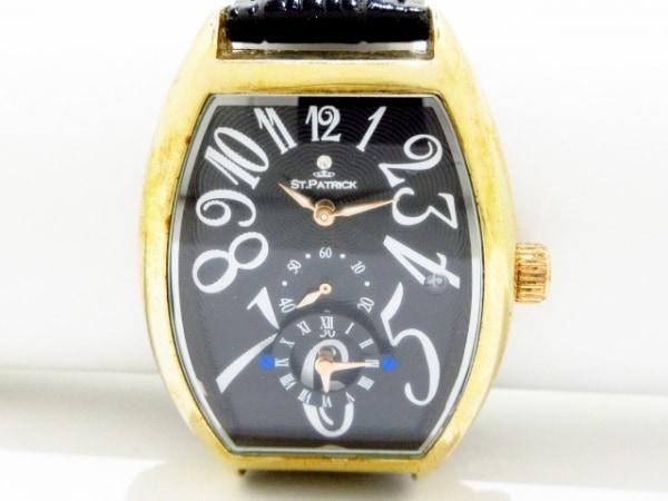 st.patrick 腕時計 - メンズ 黒