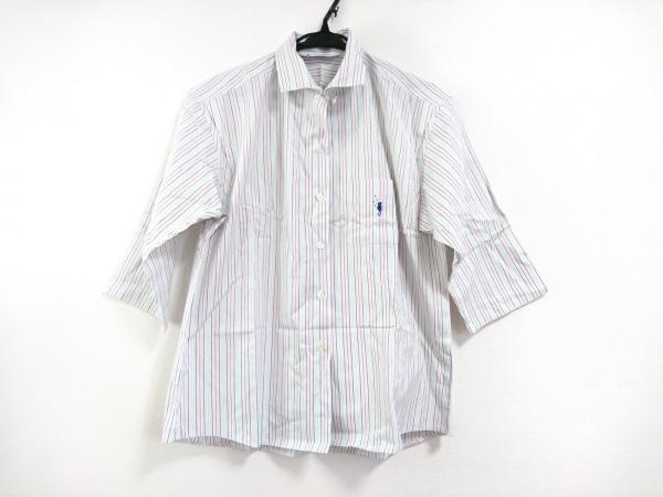 フクゾー 七分袖シャツブラウス サイズ38 M
