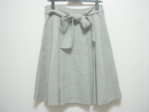 グラスライン スカート サイズ11 M グレー