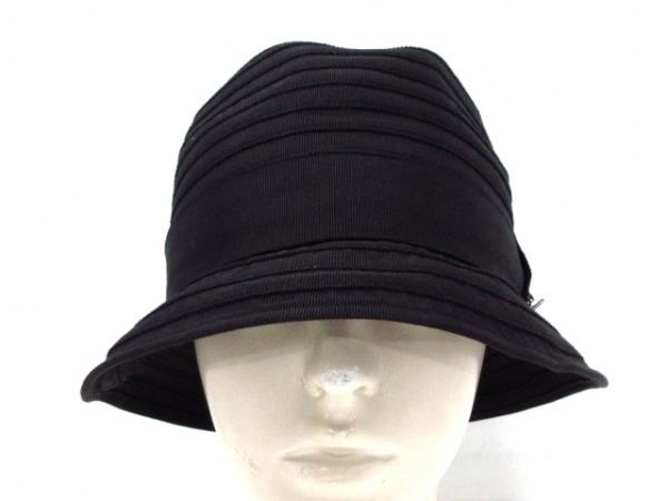 MANIERA(マニエラ) 帽子 F 黒 ポリエステル