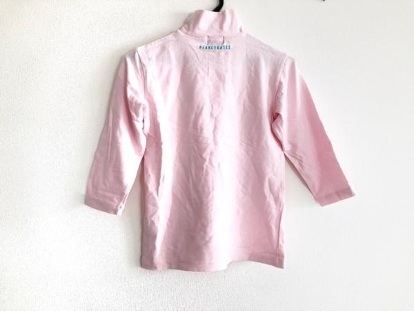 パーリーゲイツ 七分袖カットソー サイズ0 XS レディース ピンク 2