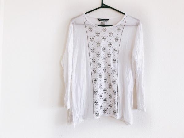 トーマスワイルド 長袖Tシャツ サイズXS