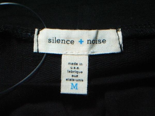 Silence+Noise(サイレンスプラスノイズ) 長袖カットソー サイズM レディース美品  黒