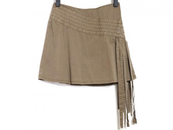 Ungaro fever(ウンガロフィーバー) ミニスカート サイズ38 M レディース ブラウン