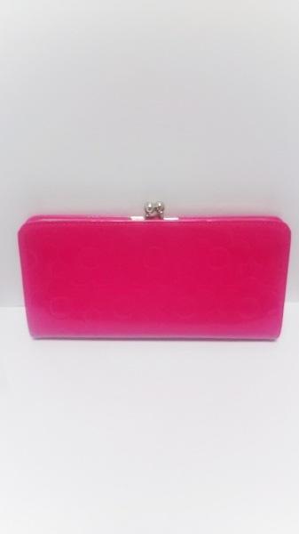 マリークワント 2つ折り財布 ピンク